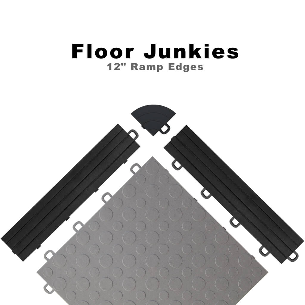 Ramp Edging Trim Interlocking Tiles